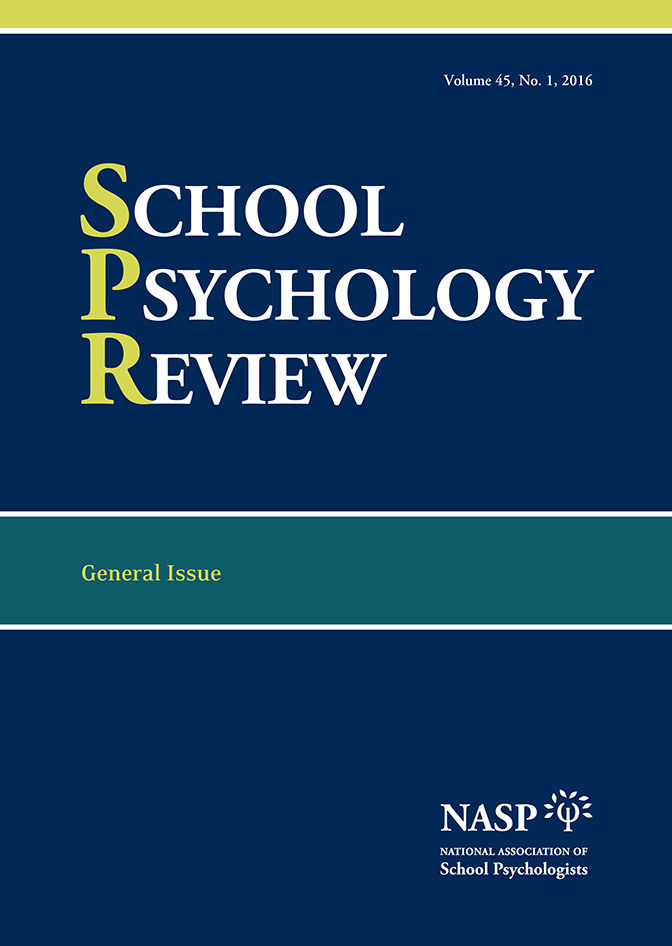 School Psychology Review Editorial Board thumbnail