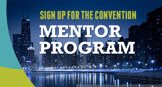 Sign Up for the Convention Mentor Program