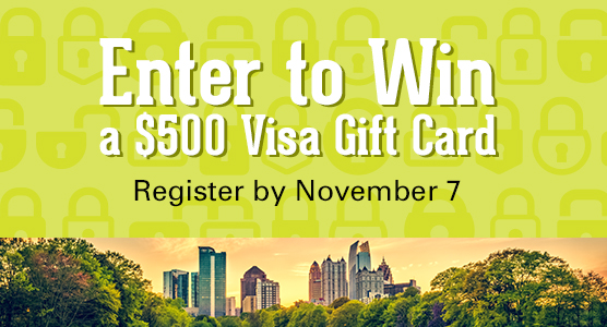 Enter to Win a $500 Visa Gift Card - Register by November 7