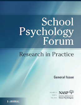 School Psychology Forum thumbnail