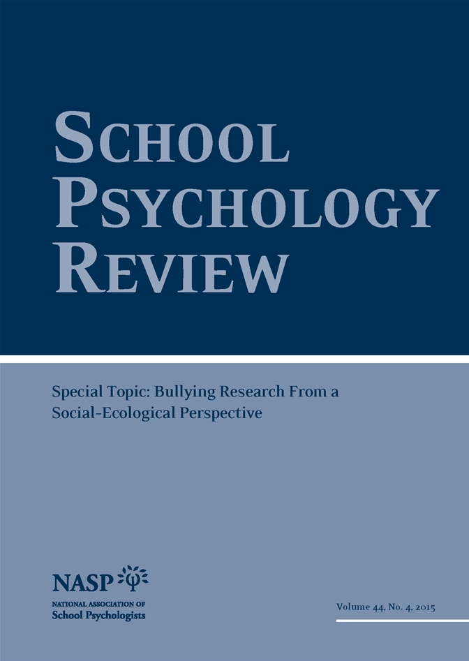 research topics bullying in schools