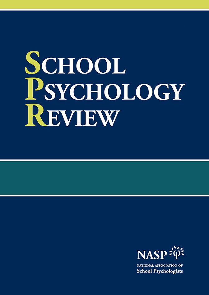 School Psychology Review (SPR) thumbnail